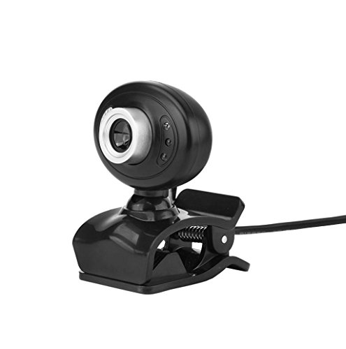 USB 12.0MP HD Camera Web Cam 360 MIC Clip-on for Skype Computer - 3