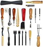 Citian Leather Tools Kit Stitching Punch Sewing Carft DIY Tool Carving