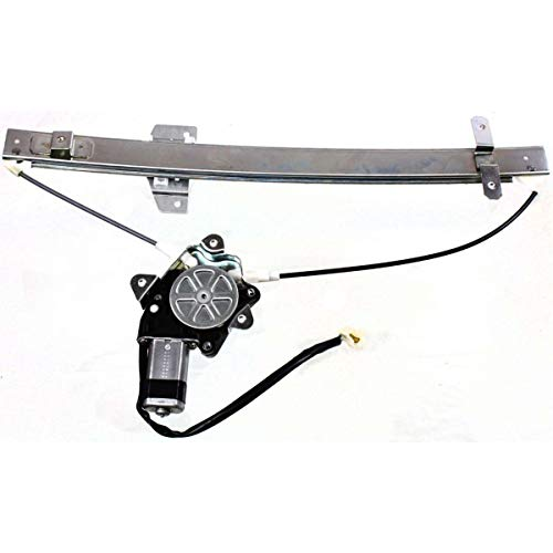 New Front Left Driver Side Power Window Regulator For 1991-1998 Suzuki Sidekick With Motor, 4-Door SZ1350103 8340257B00 ()