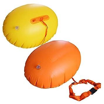 Seguridad Flotador Inflable,GZQES, Flotador PVC de Pelota,Seguridad Natación,Airbag para Natación a Mar o Lago,Color Azar: Amazon.es: Deportes y aire libre