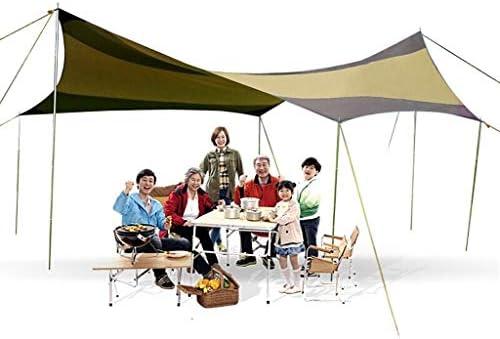 JIAQI Sombrilla Multifuncional FJZ Canopy Toldo Exterior Marquesina Pabellón Pérgola Protector Solar para Acampar Sombrilla Sombrilla de Playa Paño Tela de Visera: Amazon.es: Deportes y aire libre