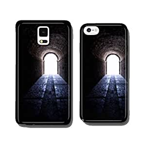 Inside view on the end of a tunnel cell phone cover case iPhone6 Plus