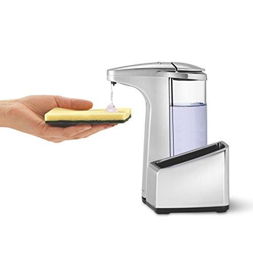 simplehuman ST1031 - Dispensador de jabón (17,300 cm, 11,500 cm, 21,400 cm): Amazon.es: Hogar