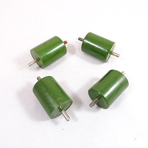 4 pcs/lot Vintage 470pF 30kV High Voltage USSR Doorknob Capacitors K15-4 for HAM, Marx, Tesla, etc DIY