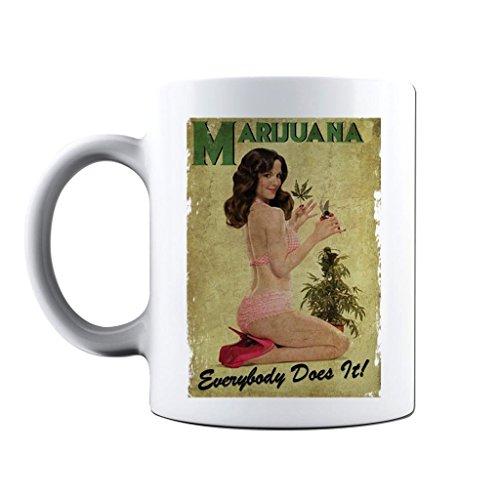 Printed Coffee Marijuana Stoner Novelty product image