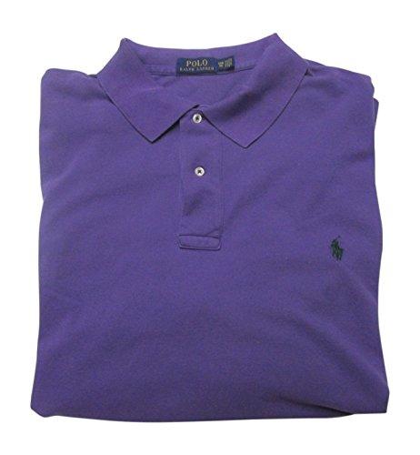 e0e8193710aab5 Galleon - Polo Ralph Lauren Men's Big & Tall Classic Fit Weathered Cotton  Mesh Polo Shirt (6X Big, Seville Purple)