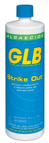 GLB Pool & Spa Products 71114 1-Quart Strike Out Algaecide
