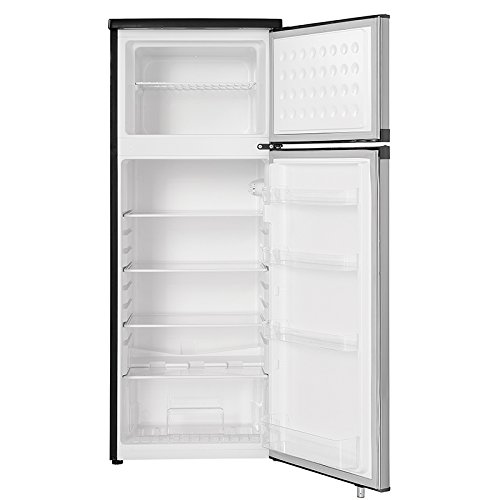 Danby Top Freezer with cu. Stainless Steel