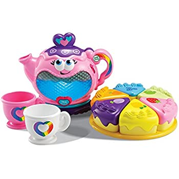 Amazon.com: LeapFrog Musical Rainbow Tea Set: Toys & Games