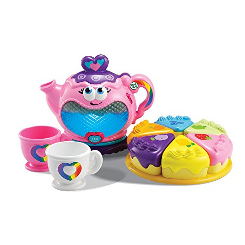LeapFrog Musical Rainbow Tea Set (Tea Set For Toddlers)