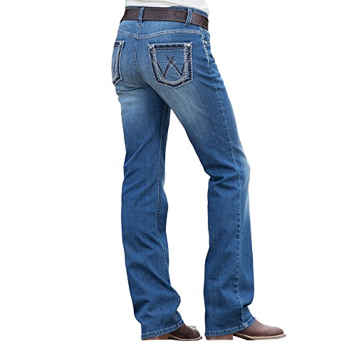 Wrangler Women's Shiloh Ultimate Riding Jean - AD Wash - Jeans Wrangler Riding