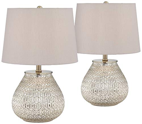 Cottage Country Table Accent - Zax Country Cottage Accent Table Lamps 19 1/2
