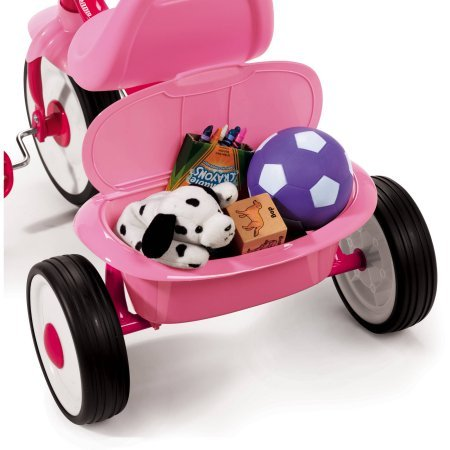 Radio Flyer Ready-To-Ride Folding Tricycle (Pink) by Radio Flyer (Image #3)