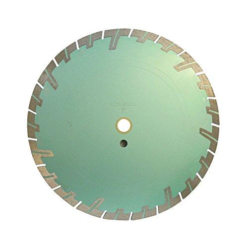 14'' x .125'' x 1'' - 20mm Turbo Segmented Wet and Dry Saw Blade 10mm (14' Turbo Rim)