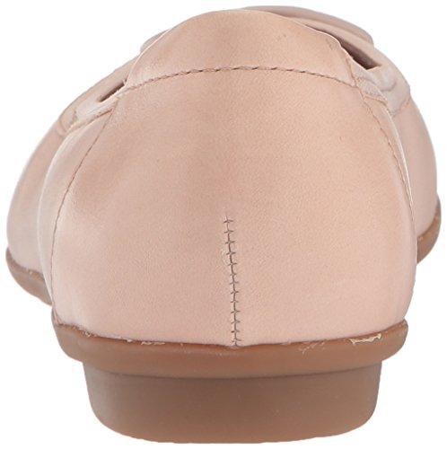 Clarks Dames Gracelin Lola Ballet Flat Cream Leer / Synthetische Combo