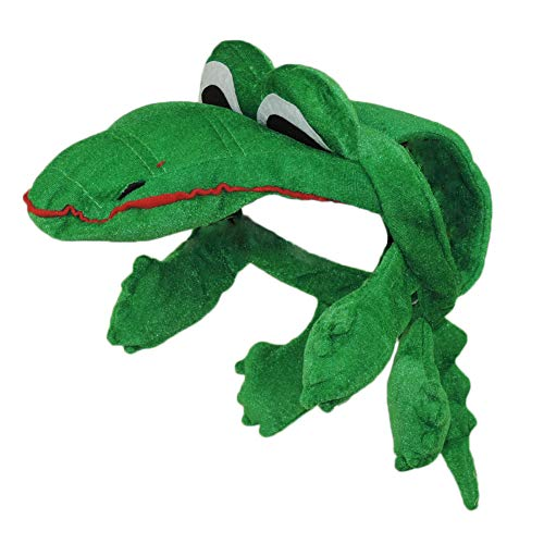 Children's Alligator Halloween Costume Hat]()