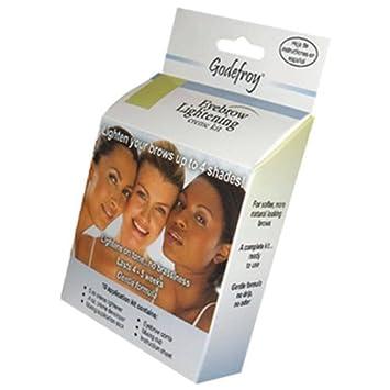 Amazon com : Godefroy Professional Eyebrow Lightening Kit