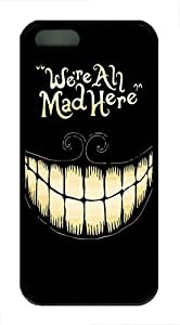 iPhone 6 plus Cases and Covers - We're All Mad Here TPU Silicone Case for Apple iPhone 6 plus - Black