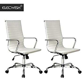 Amazon.com: Elecwish,Executive Office Chair, High Back ...