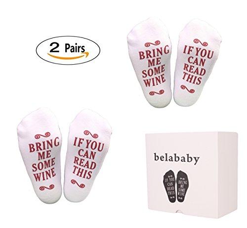 belababy Men & Women Socks 2 Pairs Packed Anti-slip Breathable