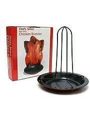 وعاء مزود بدعامة لشواء الدجاج بالفرن