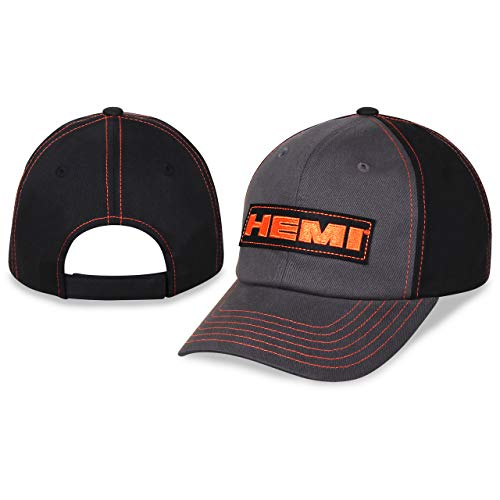 - Checkered Flag Hemi Patch Logo Adjustable Unstructured Slouch Hat/Cap
