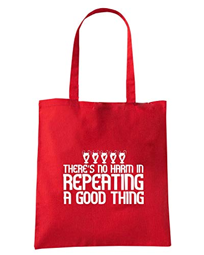 S THING Speed HARM WC0601 IN Rossa A NO Borsa GOOD REPEATING THERE Shopper Shirt rxrZOY