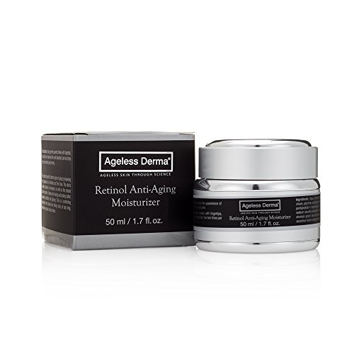 Cheap Ageless Derma Retinol Face Cream by Dr. Mostamand is an Anti Aging Wrinkle Facial Moisturizer for a Firmer Youthful Skin Tone and Texture