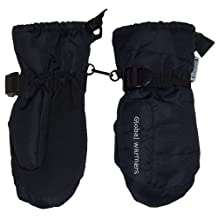 N'Ice Caps Adults Solid and Colourblocked Waterproof Puffy Ski Mittens
