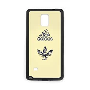 The logo of Adidas for SamSung Galaxy Note4 Black Case Hardcore-9