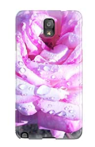 Hot 5170867K64572483 Forever Collectibles Rose Pink Hard Snap-on Galaxy Note 3 Case