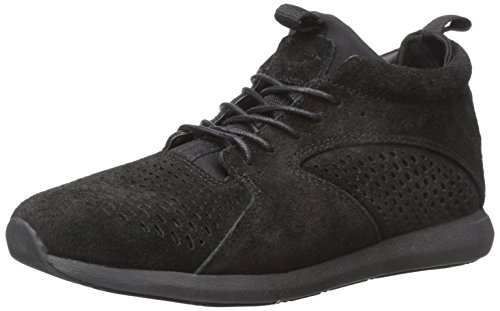 Diamond Supply Co Mens Quest Mid Skateboarden Schoen Zwart