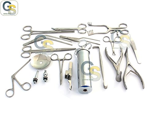 R AND NOSE INSTRUMENTS FORCEPS VIENNA NASAL SPECULUM HARTMAN ALLIGATOR FORCEPS SCISSORS (Nasal Forceps)