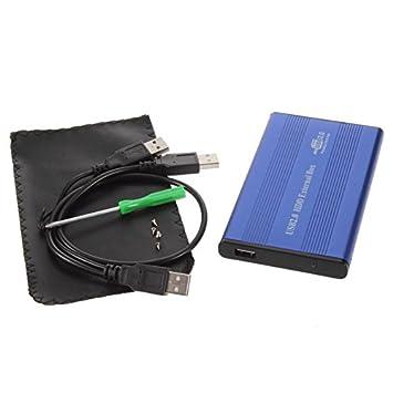 Carcasa de Disco Duro de aleación de Aluminio y magnesio Carcasa Externa de USB 2.0: Amazon.es: Electrónica