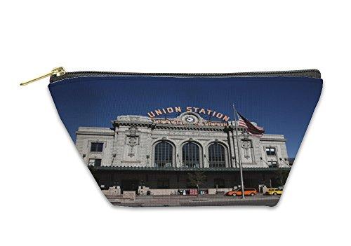 Gear New Accessory Zipper Pouch, Denver Union Station, Large, - Denver Shops Union Station
