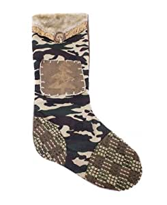 Gerson Rustic Camouflage Christmas Tree Stocking