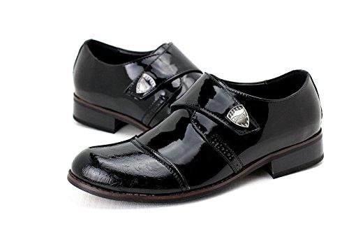 Chaussures Homme Italian Élégant Brillant Chaussure Cuir Lacet Mariage Office À Enfiler