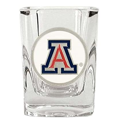 Arizona Wildcats 2 oz Clear Shot Glass