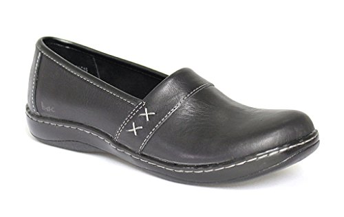 B.O.C Women's Howell black Leather Casual 9 C/D US C95203