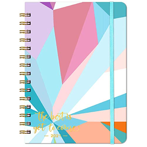 """Details about  /2021 Planner Jan 6.3/"""" x 8.4/"""" Weekly /& Monthly Planner with Tabs - Medium"""