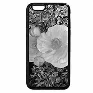 iPhone 6S Plus Case, iPhone 6 Plus Case (Black & White) - Colorful Garden 47