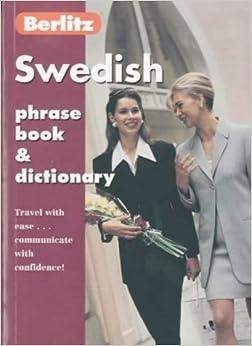 Berlitz Swedish Phrase Book and Dictionary (Berlitz Phrasebooks)