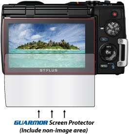 Guarmor Premium HD Tempered Glass LCD Screen Protector Guard for Olympus Tough TG-850 TG-860 TG-870 ihs Digital Camera