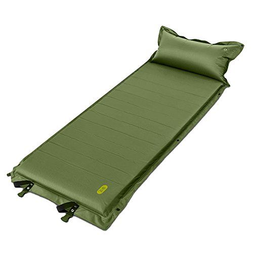 Zenph Camping Portable Air Mattress 2 inch Thickness Inflatable Single High Airbed Blow up Bed Tents Mattress for Backpacking, Camping, Travel, Beach, Yard