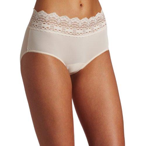 - Olga Women's Secret Hug Fashion Scoops Hipster Panty, Pale Blush, 6/M