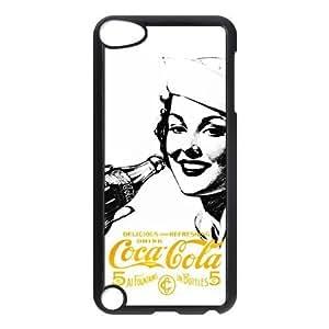 aqiloe diy Personalized Creative Coca-Cola Golden Beauty Case Ipod Touch 5th Case, Best Durable Coca Cola Ipod 5 Case Cover