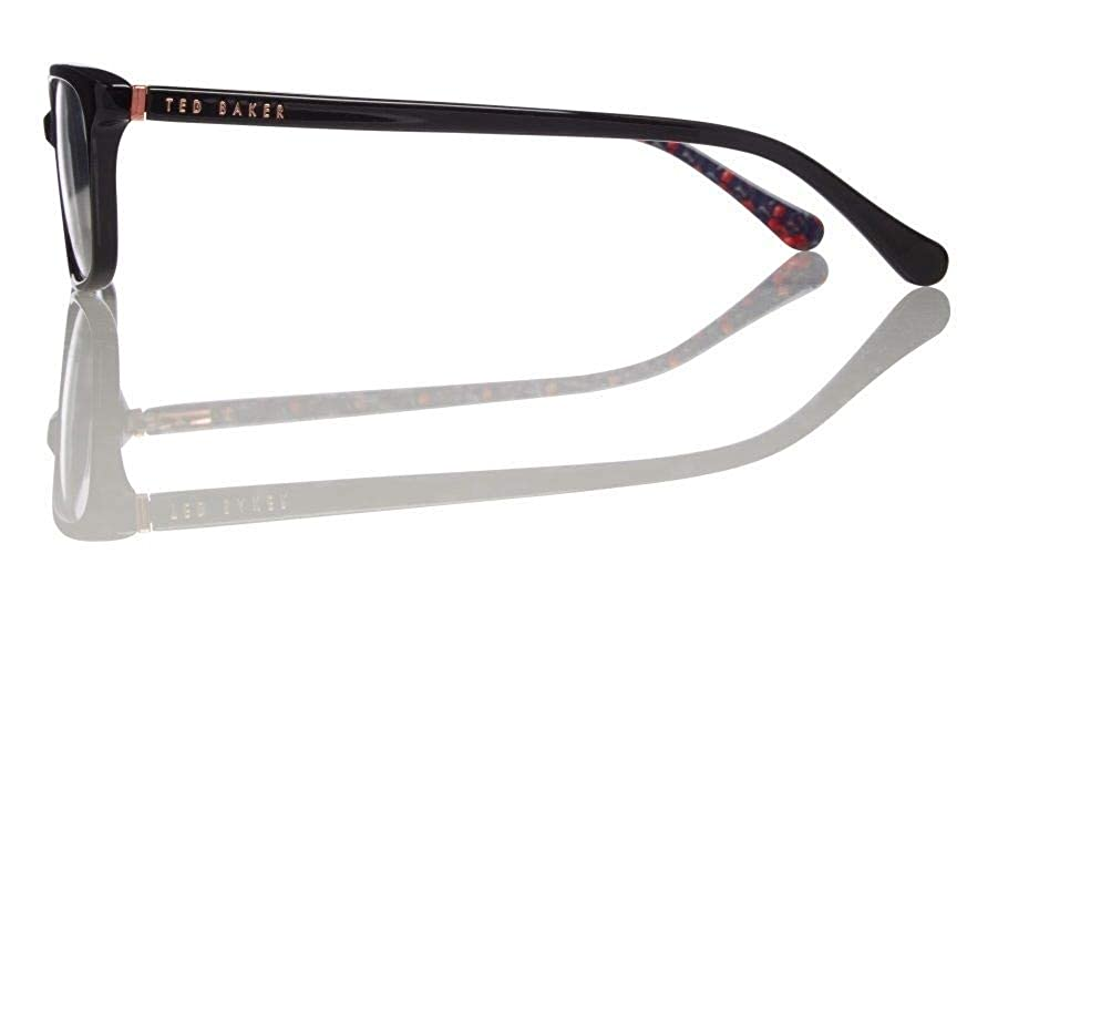 daf73e8497e Amazon.com  Ted Baker Eyeglasses TB9119 Saxon 001 Black 52-17 - Women s   Clothing