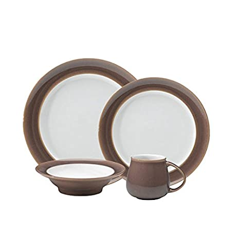 Denby Truffle 16 Pc Dinnerware Set  sc 1 st  Amazon.com & Amazon.com | Denby Truffle 16 Pc Dinnerware Set: Dinner Plates