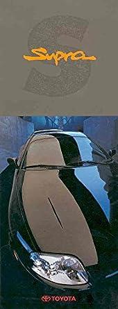 1993 Toyota Supra Turbo Sales Brochure