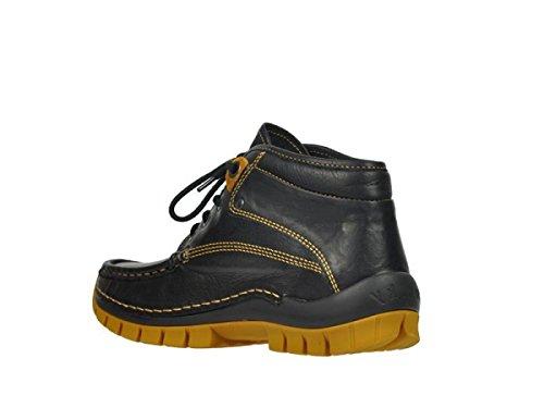 Leder Donna Curry Wolky Sneaker Schwarz 20010 qOwnz41